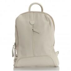 Kožený batůžek italský design bílá BR963 Baťůžky