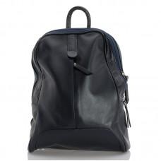 Kožený batůžek italský design modrá BR963 Baťůžky