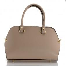 Italská dámská kožená kabelka begie BR947
