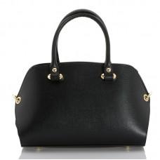 Italská dámská kožená kabelka černá BR947