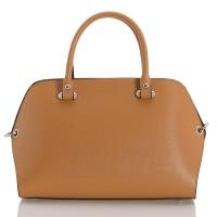 Italská dámská kožená kabelka begie BR948