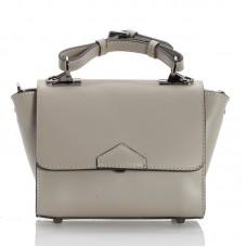 Italská dámská kožená kabelka šedá BR949