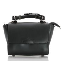 Italská dámská kožená kabelka černá BR949