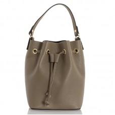 Italská dámská kožená kabelka béžová BR951