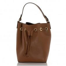 Italská dámská kožená kabelka hnědá BR951