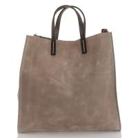 Italská dámská kožená kabelka hnědá BR955