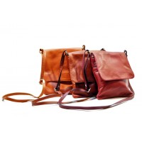 Italská kabelka malá BR230 jen červená Malé kabelky