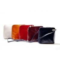 Malé italské kabelky Etue jen béžová BR227