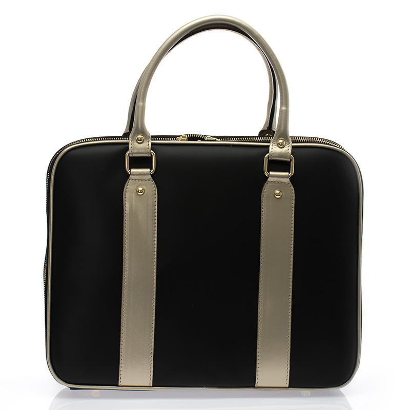 23bc6f8714 Italská dámská luxusní business kabelka kožená černá BR729 Kabelky do ruky  ...