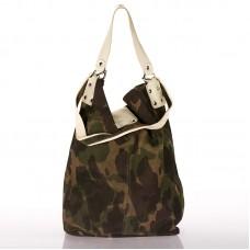 Italská dámská kožená kabelka maskáč BR710 11d41974813