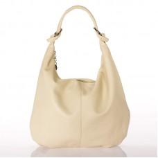 Italská dámská kabelka kožená béžová BR722B 9ac861f0bfa