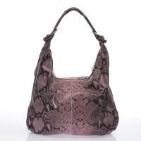 Italská dámská kabelka kožená fialová  BR722 Přes rameno