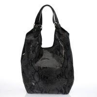 Italská dámská kabelka kožená tmavě modrá navy  BR720 Přes rameno