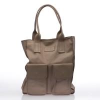Italská dámská kožená kabelka béžová pudr do ruky BR712 Přes rameno