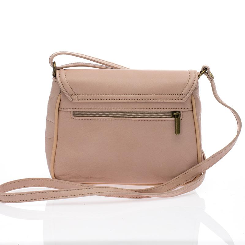 ... Italská kožená tělově růžová kabelka BR527 Crossbody kabelky ... 8d97c74f55b