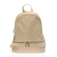 Kožený batoh italský trendy design růžový BR611 50367e9769