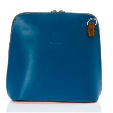 Malá italská dámská kabelka tmavě modrá Etue BR227  Crossbody kabelky