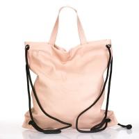 Italský dámský sexy stahovací pytel trendy design růžový pudr BR811 Baťůžky