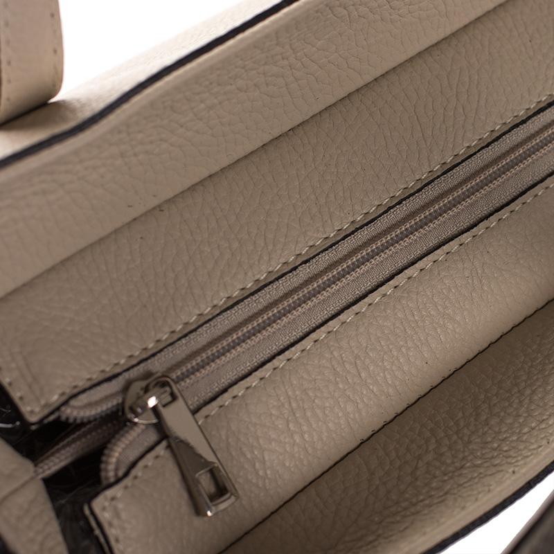 bbe63e4cb Italská dámská kožená kabelka béžová světle do ruky BR924