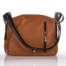 Italská dámská kožená kabelka camel sauvage teletina BR902 059413e9727