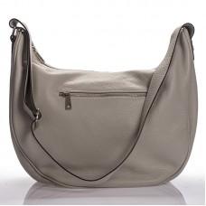 Italská dámská kožená kabelka šedá na rameno BR908 ea06407d267